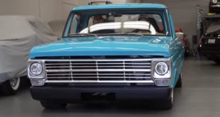 1969er Ford F 100 Restomod HP Holley V8 50 310x165 Video: 1964er Chevrolet C10 Restomod mit 500 PS V8!
