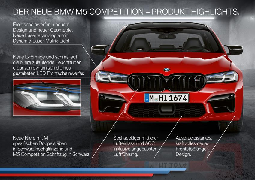 2020 BMW M5 Competition Facelift F90 LCI Tuning 5 2020 BMW M5 und M5 Competition Facelift! (F90 LCI)