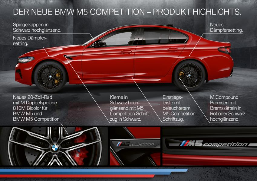 2020 BMW M5 Competition Facelift F90 LCI Tuning 6 2020 BMW M5 und M5 Competition Facelift! (F90 LCI)