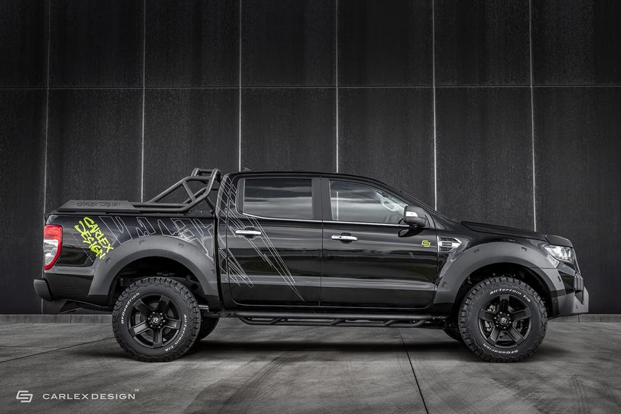 2020 Carlex Design Ford Ranger Widebody Tuning 3 Verwandelt: 2020 Carlex Design Ford Ranger Widebody!