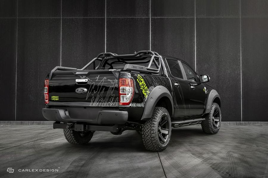 2020 Carlex Design Ford Ranger Widebody Tuning 4 Verwandelt: 2020 Carlex Design Ford Ranger Widebody!