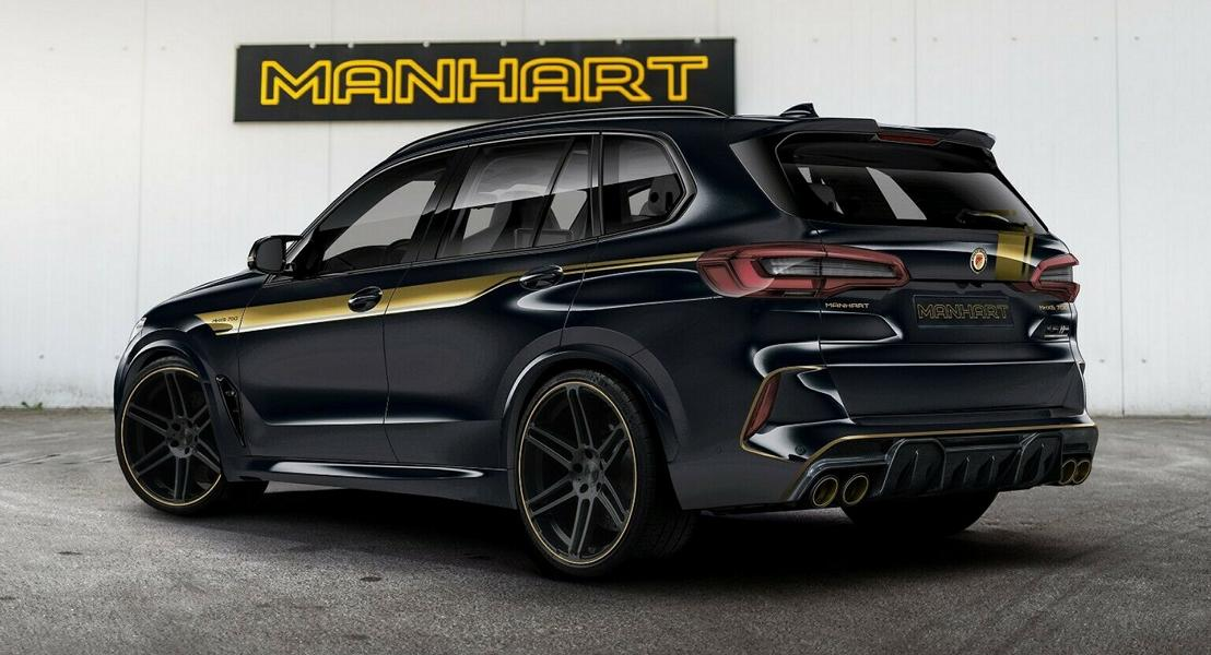 720 PS Manhart MHX5 BMW X5 M F95 Competition Tuning 1 720 PS Manhart MHX5 auf Basis des BMW X5 M (F95)