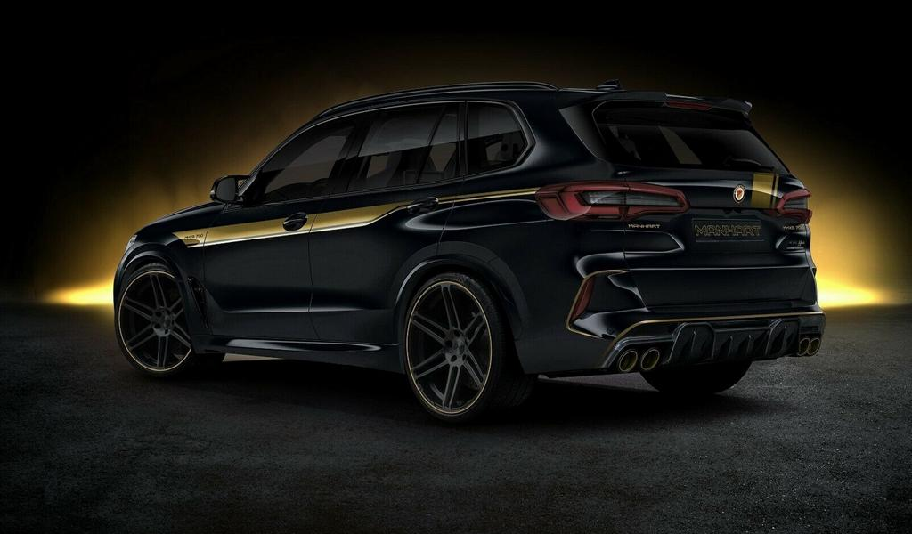 720 PS Manhart MHX5 BMW X5 M F95 Competition Tuning 2 720 PS Manhart MHX5 auf Basis des BMW X5 M (F95)