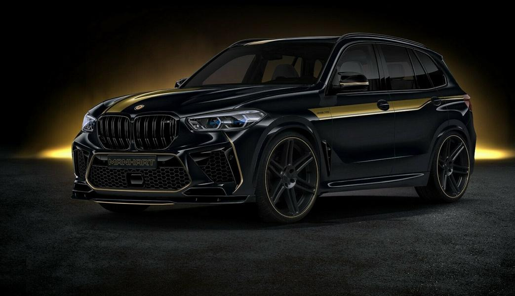 720 PS Manhart MHX5 BMW X5 M F95 Competition Tuning 3 720 PS Manhart MHX5 auf Basis des BMW X5 M (F95)