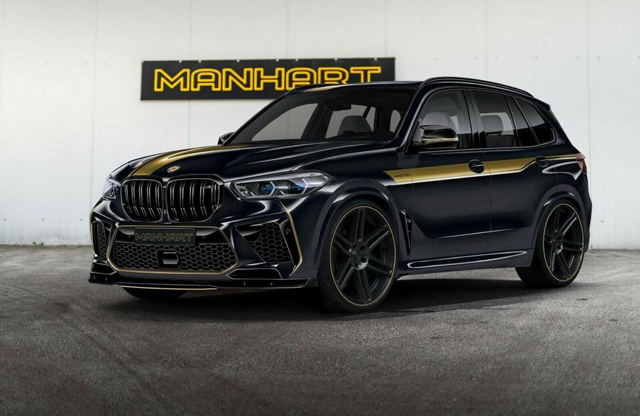 720 PS Manhart MHX5 BMW X5 M F95 Competition Tuning 4 720 PS Manhart MHX5 auf Basis des BMW X5 M (F95)