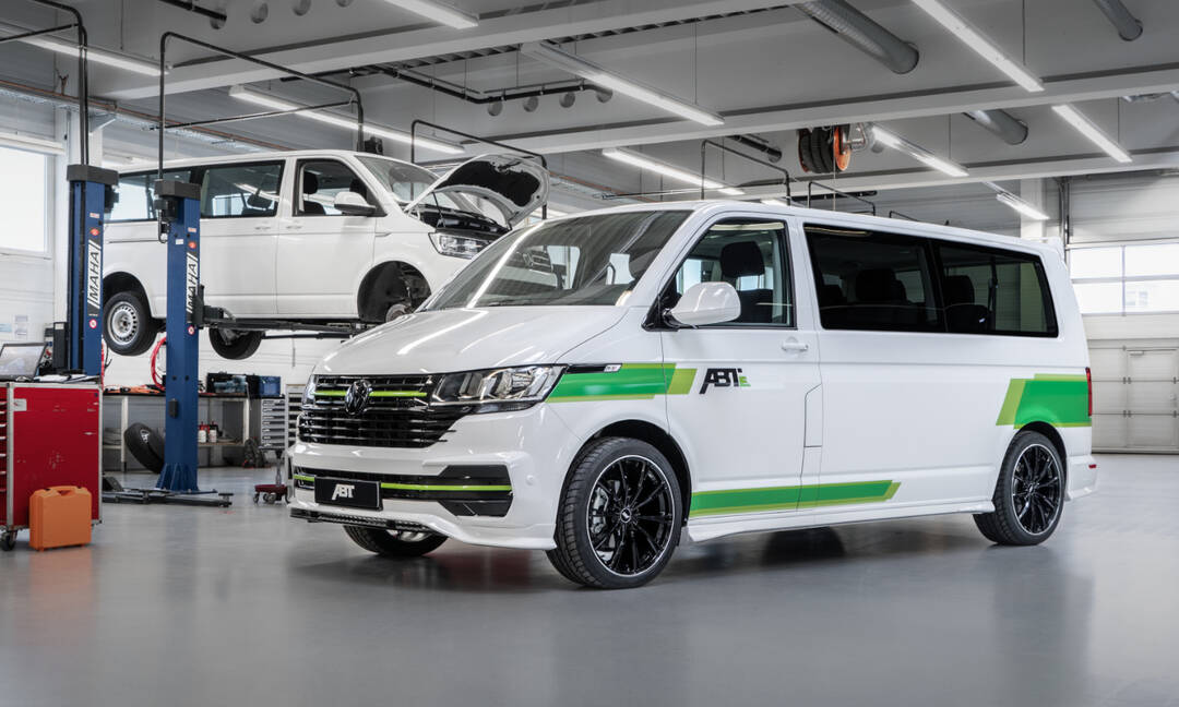 Refreshed Abt E Transporter 6 1 Based On The Vw T6