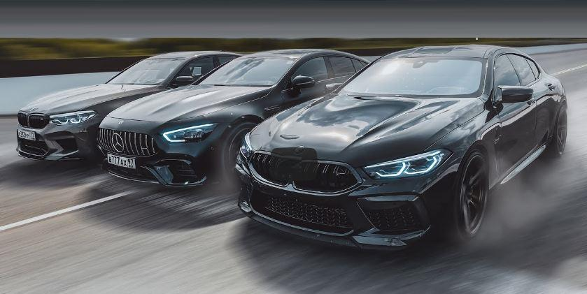 BMW M8 Gran Coupé vs. GT63 S AMG vs. M5 Performance Video: BMW M8 Gran Coupé vs. GT63 S AMG vs. M5 Performance