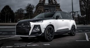 Carlex Design 2020 Hyundai Santa Fe Widebody Tuning 19 310x165 Verwandelt: 2020 Carlex Design Ford Ranger Widebody!