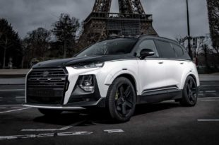 Carlex Design 2020 Hyundai Santa Fe Widebody Tuning 19 310x205 Carlex Design 2020 Hyundai Santa Fe mit Widebody Kit