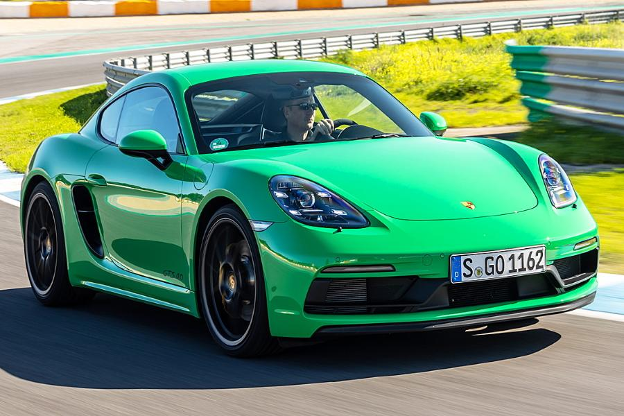 Cayman GTS Porsche 718 4.0 Video: Porsche Cayman GTS vs. BMW M2 CS vs. Mercedes A45 AMG S