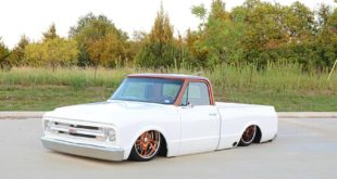Chevrolet C10 Pickup Compadre Airride V8 Restomod 1 310x165 Video: Ratlook Chevrolet C10 mit 550 PS LM7 V8 Power!