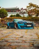 Clinched Unicorn Widebody Ford Mustang Cabrio Kompressor Airride 5 135x169 Unicorn Widebody Ford Mustang Cabrio mit 700 PS!