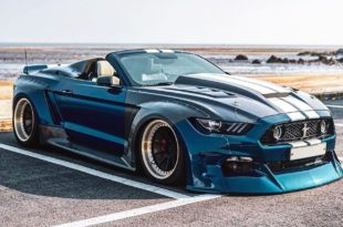 Clinched Unicorn Widebody Ford Mustang Cabrio Kompressor Header 310x205 Unicorn Widebody Ford Mustang Cabrio mit 700 PS!
