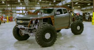 Colorado Kymera Chevy 310x165 Video: Ken Block driftet einen Ford F 450 Pickup Truck!