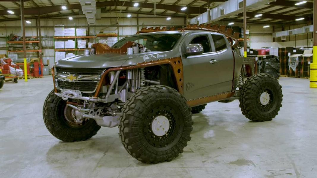 Video Awesome Offroad Monster The Colorado Kymera Chevy