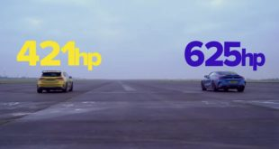 Drag race Mercedes AMG A45 S vs. BMW M8 Competition 310x165 Video: Porsche Taycan Turbo S gegen 911 Turbo S (992)