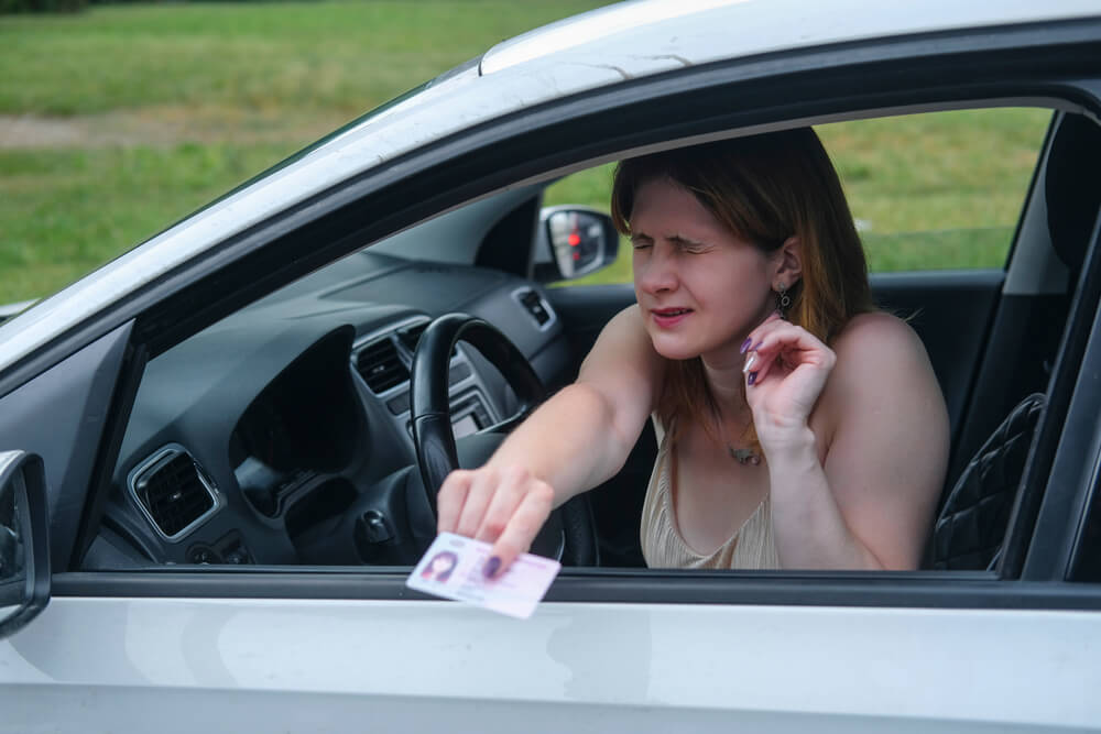 Driving without a driver's license Penalties Police 2 Withdrawal of driver's license anything but a pleasant situation!