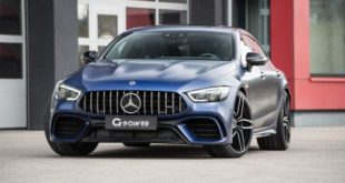 G Power Mercedes AMG GT 63 4door X 290 GP 63 Header 310x165 G Power G5M Hurricane RR BMW M5 (F90) with 900 PS!