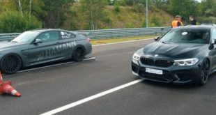 HPT BMW M5 F90 vs. Hamann M4 und 9ff 310x165 Video: 840 PS BMW M5 F90 vs. 750 PS Nissan GT R (R 35)!