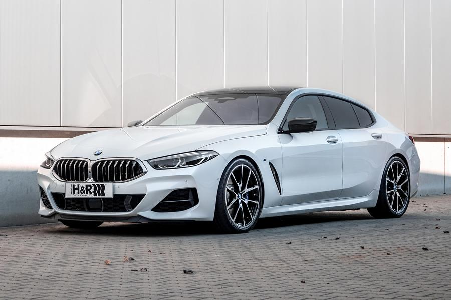 With Racing Genes H R Sport Springs For The Bmw 8 Series Gran Coupé