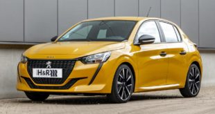 HR sport springs Peugeot 208 Tuning 2 310x165 360 PS in the new Peugeot 508 PSE Plug In Hybrid!