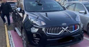 Kia Sportage BMW Nieren Tuning Tiger Nose 310x165 Giftiger Stachel: The Sting AIR Kia Stinger von AMJ!