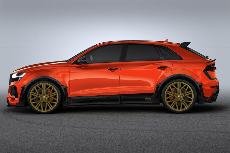 LUMMA CLR 8 RS Widebody 4M Tuning Audi RS Q8 10 LUMMA CLR 8 RS: Widebody Version des Audi RS Q8!