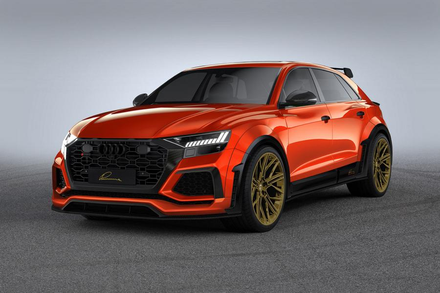 LUMMA CLR 8 RS Widebody 4M Tuning Audi RS Q8 20 LUMMA CLR 8 RS: Widebody Version des Audi RS Q8!
