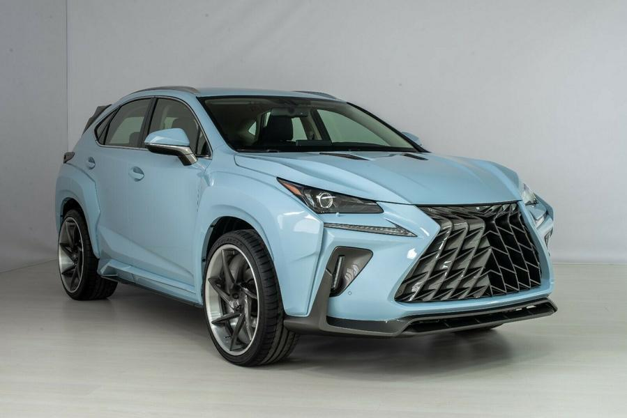Lexus NX KOTARO body kit SCL Russia Tuning 6 1 Brutal Lexus RX and NX with macho body kit from SCL!