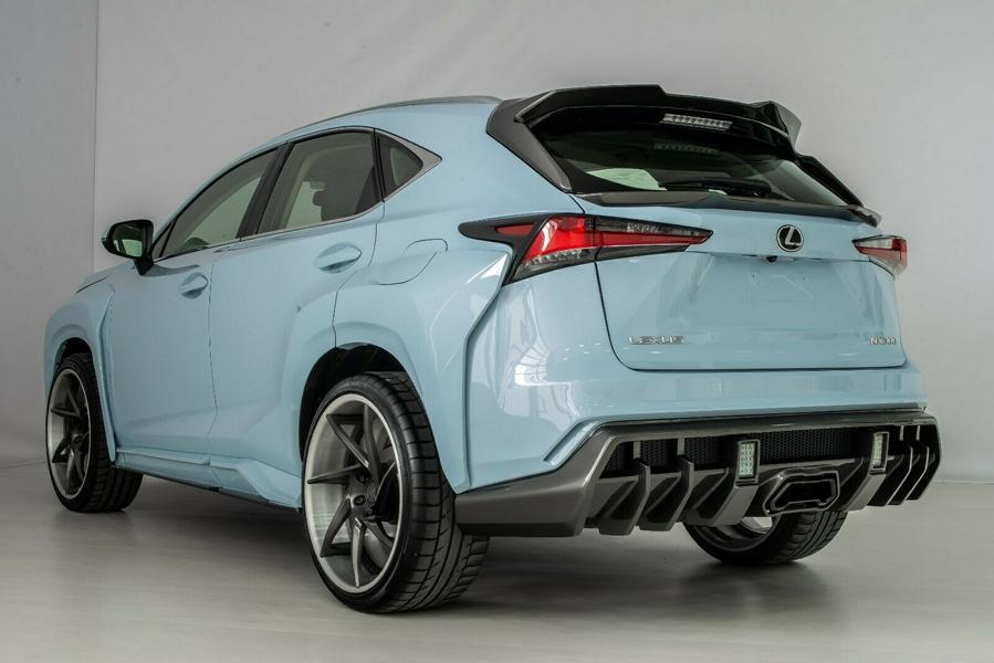 Lexus NX KOTARO body kit SCL Russia Tuning 7 Brutal Lexus RX and NX with macho body kit from SCL!