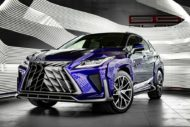 Lexus RX GOEMON body kit SCL Tuning Russia 1 190x127 Brutal Lexus RX and NX with macho body kit from SCL!