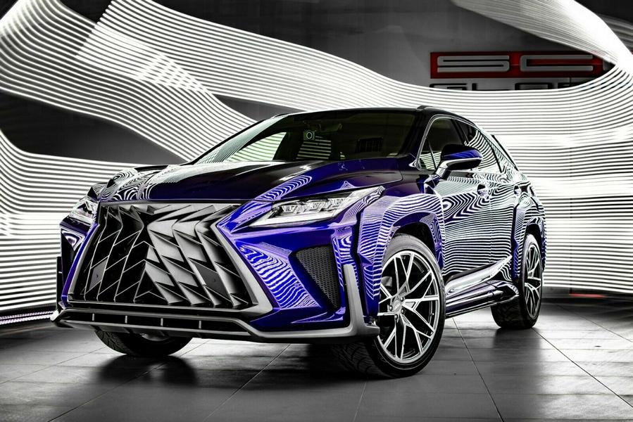 Lexus RX GOEMON Bodykit SCL Tuning Russia 1 Brutal Lexus RX and NX with Macho Bodykit from SCL!