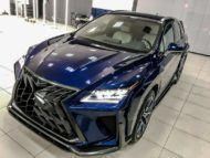 Lexus RX GOEMON body kit SCL Tuning Russia 10 190x143 Brutal Lexus RX and NX with macho body kit from SCL!