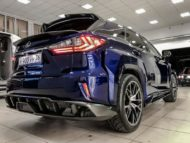 Lexus RX GOEMON body kit SCL Tuning Russia 11 190x143 Brutal Lexus RX and NX with macho body kit from SCL!