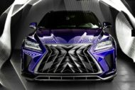 Lexus RX GOEMON body kit SCL Tuning Russia 2 190x127 Brutal Lexus RX and NX with macho body kit from SCL!