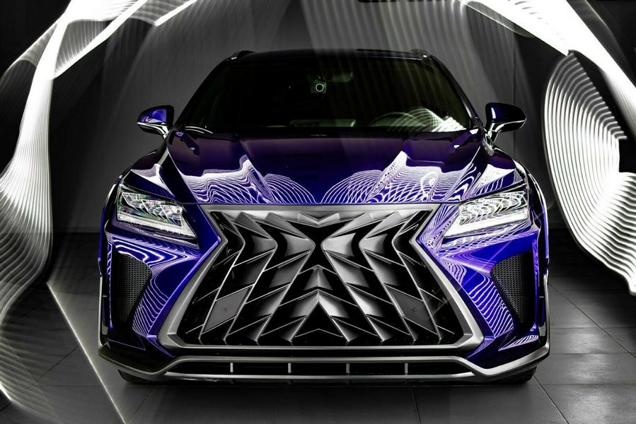 Lexus RX GOEMON Bodykit SCL Tuning Russia 2 Brutal Lexus RX and NX with Macho Bodykit from SCL!