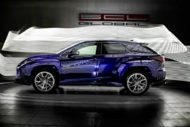 Lexus RX GOEMON body kit SCL Tuning Russia 4 190x127 Brutal Lexus RX and NX with macho body kit from SCL!