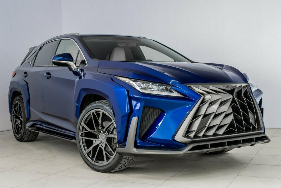 Lexus RX GOEMON body kit SCL tuning Russia 5 1 Brutal Lexus RX and NX with macho body kit from SCL!