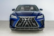 Lexus RX GOEMON body kit SCL Tuning Russia 6 190x128 Brutal Lexus RX and NX with macho body kit from SCL!