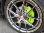 MG 6 Tuning Bodykit Brembo 16 155x116 Black is Beautiful   MG 6 im Racing Style mit fetter Optik.