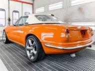 Mazda MX 5 Roadster Bodykit Swap 3 190x142 Schrille Frosch Optik am Mazda MX 5 Roadster in Orange!