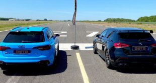 Mercedes AMG A45 S vs. Audi RS4 Avant 310x165 Video: 421 PS Mercedes AMG A45 S vs. 450 PS Audi RS4 Avant