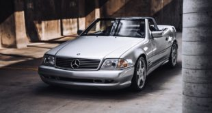 Mercedes SL 600 Renntech SL 74 Tuning R129 AMG 16 310x165 Seven liter V12 and 528 PS: Mercedes AMG MKB 70TE!