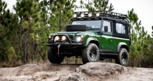 Project Family Vacation Defender mit LS3 V8 von E.C.D 2 310x165 OCC Land Rover Defender 90 Replika mit V8 in Himmelblau!