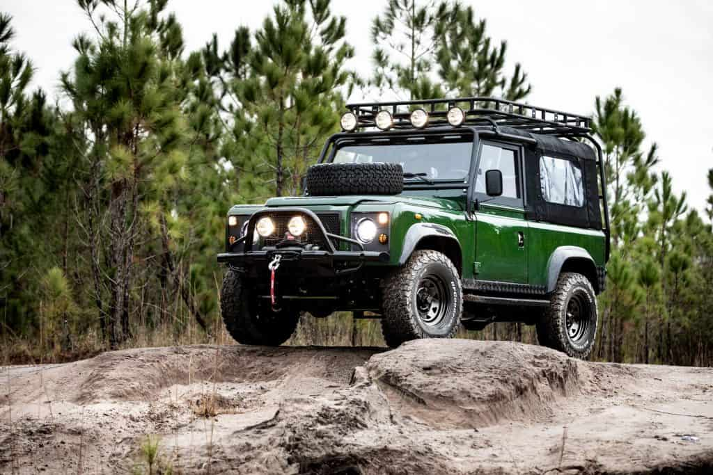 Project Family Vacation Defender mit LS3 V8 von E.C.D 2 Project Family Vacation   Defender mit LS3 V8 von E.C.D.