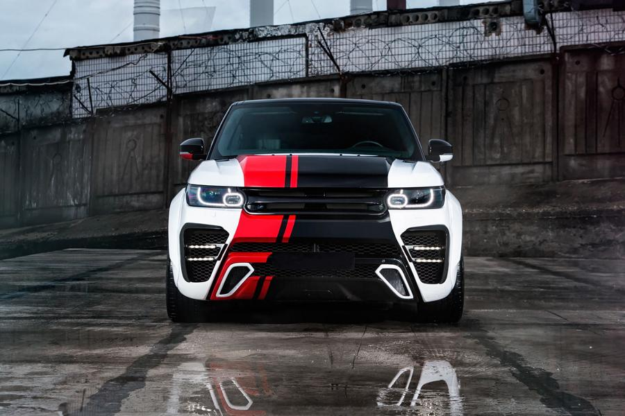 Range Rover Sport Widebody Kit SCL Global Concept Tuning 1 Range Rover Sport mit Restyling Kit von SCL Global Concept