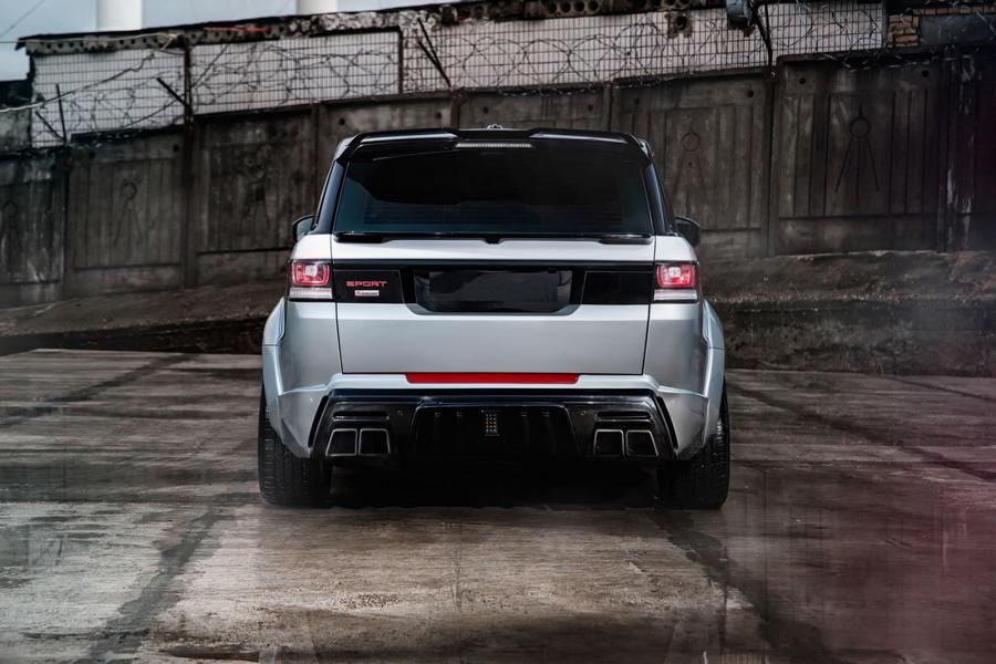 Range Rover Sport Widebody Kit SCL Global Concept Tuning 3 Range Rover Sport mit Restyling Kit von SCL Global Concept