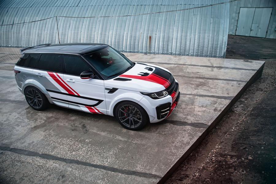 Range Rover Sport Widebody Kit SCL Global Concept Tuning 6 Range Rover Sport mit Restyling Kit von SCL Global Concept