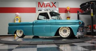 Restomod 1965 GMC 1500 Shortbed Pickup Tuning Header 310x165 1971er Dodge Dart Demon Restomod mit 7,2 Liter V8!