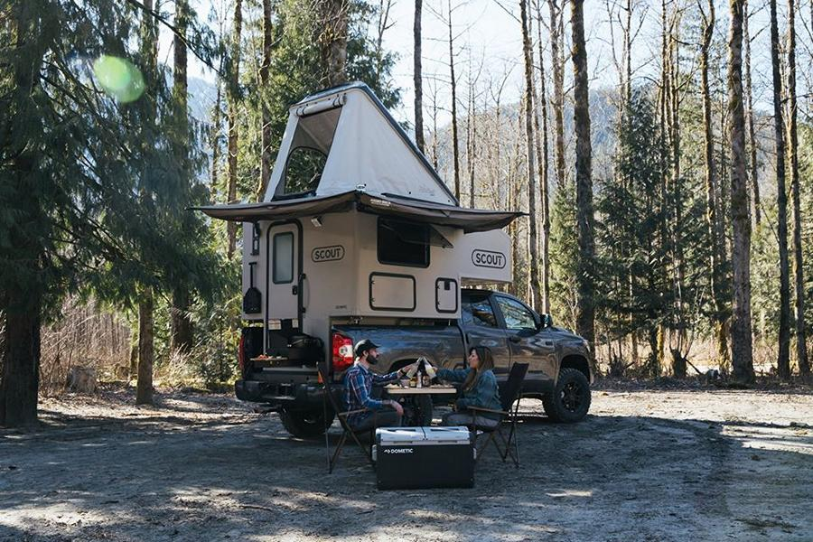 Scout Olympic Camper Ladefläche Pickup Camping 11 Für den Pickup: Scout Olympic Camper für die Ladefläche!